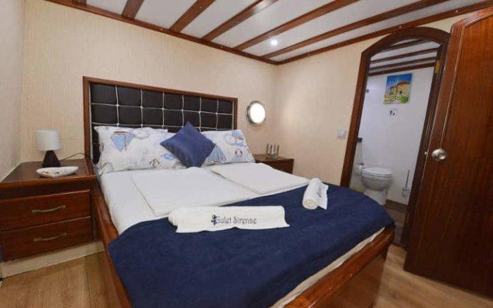sirena gulet yacht charter cabin-1