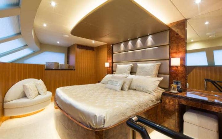 SEA BOSS power catamaran yacht charter cabin-1