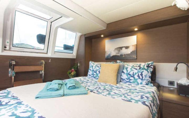 MAHASATTVA catamaran yacht charter - cabin-1