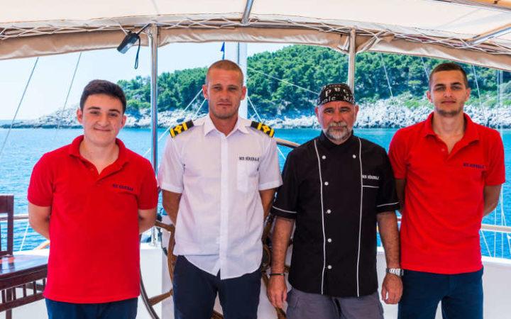 sirena gulet yacht charter crew