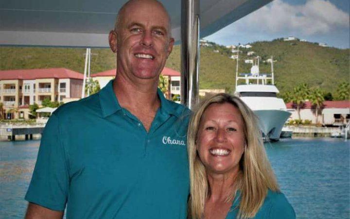 OHANA catamaran yacht charter crew