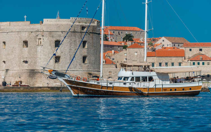 sirena gulet yacht charter exterior