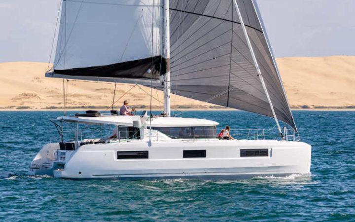 ALICE catamaran yacht charter exterior