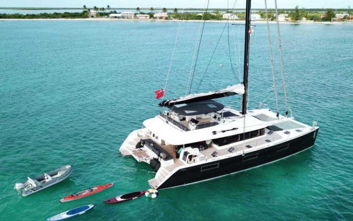 MAHASATTVA catamaran yacht charter - exterior