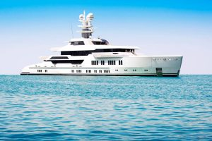 Charter a private crewed yacht